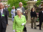 Her Majesty Queen Elizebeth at the Chelsea Flower Show