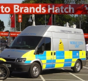 Mobile CCTV VAn at brands Hatch