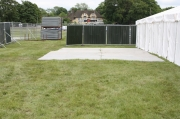 tracway fencing cabins and marquees