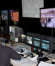 Monitoring an event with CCTV